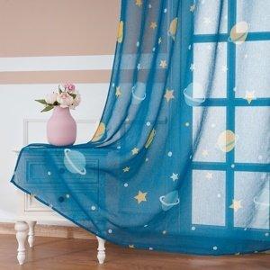 4Home Detská záclona Space, 150 x 250 cm
