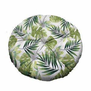 Domarex Sedák XXL Green leaves, priemer 65 cm