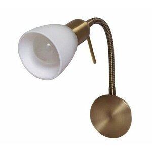 Nástenné svietidlo Rabalux Soma 6320 bronzová / biela