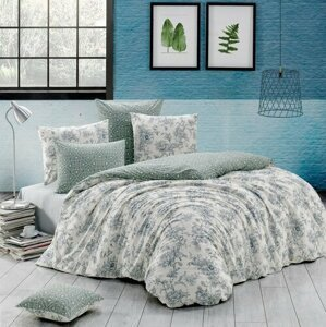 BedTex Bavlnené obliečky Estelita smotanová, 220 x 200 cm, 2 ks 70 x 90 cm