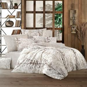 BedTex Bavlnené obliečky Masal béžová, 140 x 200 cm, 70 x 90 cm