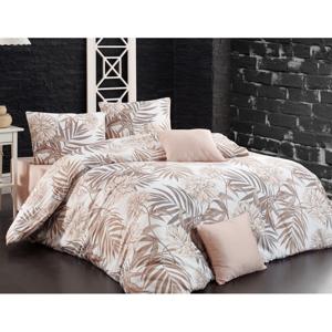 BedTex Bavlnené obliečky Amazing hnedá, 220 x 200 cm, 2 ks 70 x 90 cm