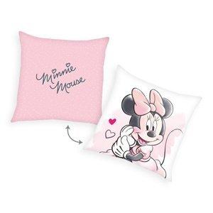 Herding Vankúšik Minnie Mouse, 40 x 40 cm