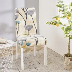 4Home Napínací poťah na stoličku Nature, 45 - 50 cm, sada 2 ks