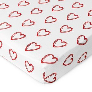 4Home jersey prestieradlo In love, 180 x 200 cm