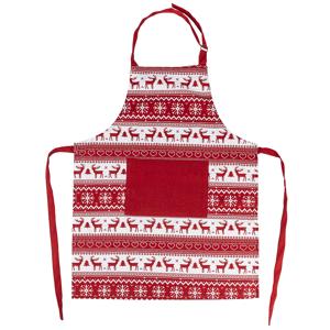 Trade Concept Vianočná zástera Sob červená, 60 x 80 cm