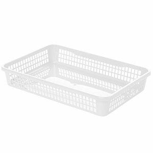 Aldo Plastový košík 15,5 x 12,5 x 6,6 cm, biela