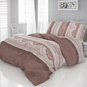 Kvalitex Saténové obliečky Luxury Collection Carmela béžová, 140 x 220 cm, 70 x 90 cm