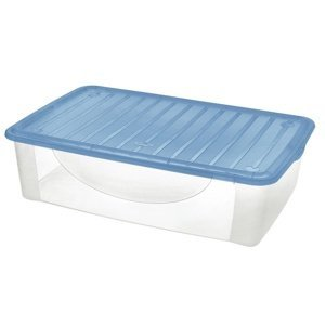 Tontarelli DODO STOCK-BOX s vekom 27L transparent / svetlomodrá