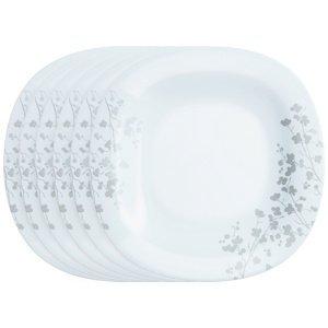 Luminarc Sada dezertných tanierov Ombrelle 19 cm, 6 ks, biela