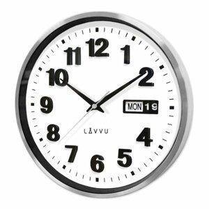 LAVVU LCT4050 - Kovové hodiny s ukazovateľom dátumu Date Metal