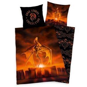 Herding Bavlnené obliečky Anne Stokes Dragon, 140 x 200 cm, 70 x 90 cm