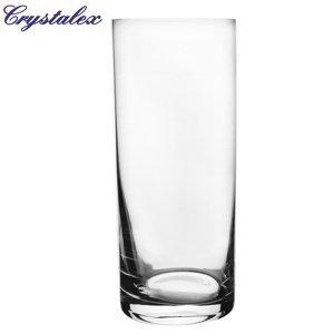 Crystalex Sklenená váza, 10,5 x 25,5 cm