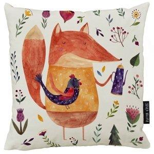 Butter Kings Vankúš Fox on meadow, 50 x 50 cm