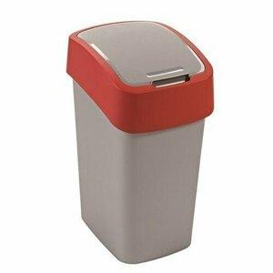 Curver Odpadkový kôš FLIP BIN 10 l, červená