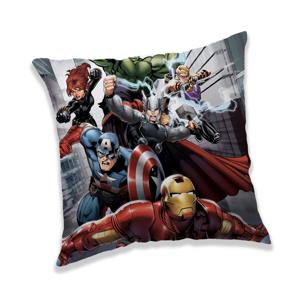 Jerry Fabrics Vankúšik Avengers Fight, 40 x 40 cm