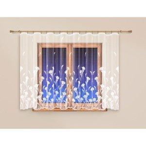 4Home Záclona Flowers rovná, 250 x 120 cm