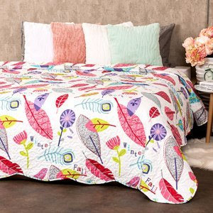4Home Prehoz na posteľ Karine, 220 x 240 cm