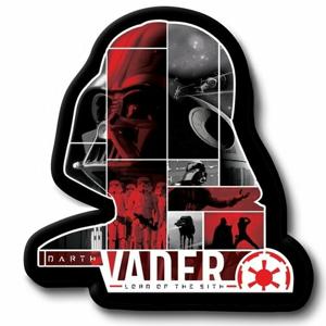 Jerry Fabrics Tvarovaný vankúšik Darth Vader, 31 x 19 cm