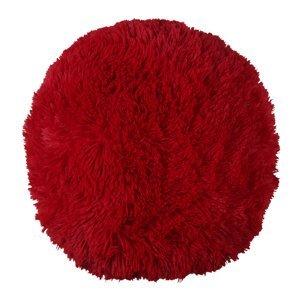 Bo-ma Trading Vankúšik chlpatý Jáchym červená, 50 cm