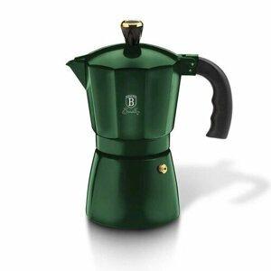 Berlinger Haus Kanvica na espresso Emerald Collection, 6 šálok