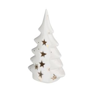 Altom Keramický vianočný stromček, 7 x 4,5 x 13 cm