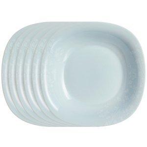Luminarc Sada hlbokých tanierov Ombrelle 21 cm, 6 ks, sivá