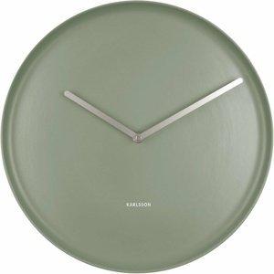 Karlsson 5786GR dizajnové nástenné hodiny, pr. 35 cm