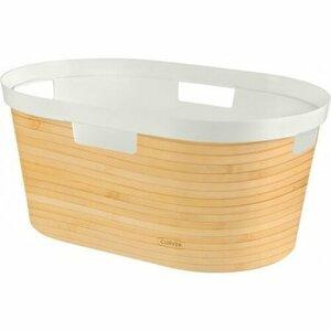 CURVER INFINITY Kôš na čistú bielizeň 39l, vzor bambus 04762-B45