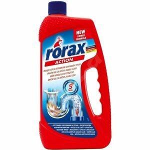 Rorax 2v1 gélový čistič odpadov 1000 ml