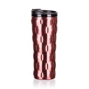 Banquet Hrnek cestovn dvojstenný OASE 450 ml, ružová