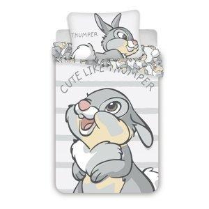 Jerry Fabrics Detské bavlnené obliečky do postieľky Thumper 02 baby, 100 x 135 cm, 40 x 60 cm