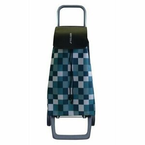 Rolser Nákupná taška na kolieskach Jet Dama Joy, zeleno-biela