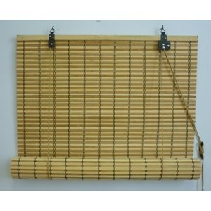 Gardinia Roleta bambusová JAVA prír./čokoláda, 90 x 220 cm