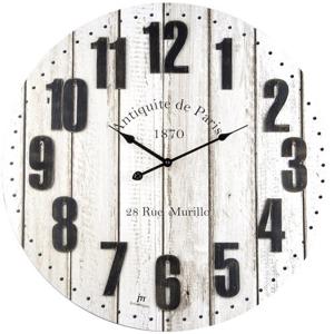 Lowell 21482 Dizajnové nástenné hodiny pr. 60 cm