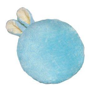 Domarex Vankúšik Soft Bunny plus modrá, priemer 35 cm