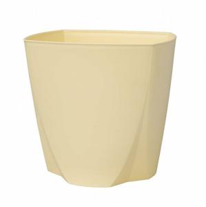 Plastový kvetináč Camy 21 cm, vanilková, Plastia