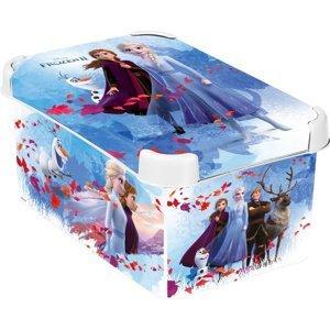 Curver Dekoračný úložný box Frozen 2 S, 8 l