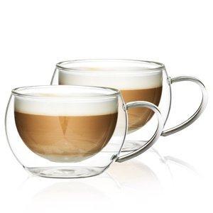 4Home Termo pohár na cappuccino Hot&Cool 280 ml, 2 ks