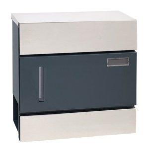 Poštová oceľová schránka s okienkom BK.932.LG.AM.N