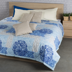 Night in Colours Prehoz na posteľ Ottorino modrá