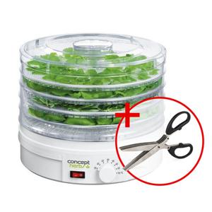Concept SO1040 sušička ovocia a byliniek darček nožnice,