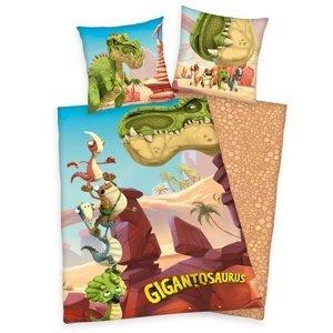 Herding Detské bavlnené obliečky Gigantosaurus, 140 x 200 cm, 70 x 90 cm