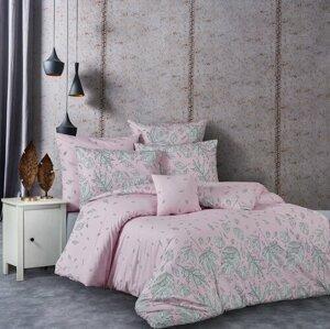 BedTex Bavlnené obliečky Hostid ružová, 220 x 200 cm, 2 ks 70 x 90 cm