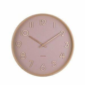 Karlsson 5757PI dizajnové nástenné hodiny, pr. 40 cm