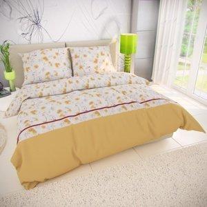 Kvalitex Bavlnené obliečky Sunny, 140 x 200 cm, 70 x 90 cm