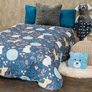 4Home Detský prehoz na posteĽ Nordic Woodland, 140 x 200 cm