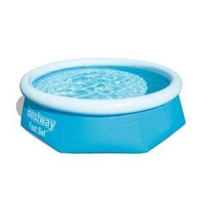 Bestway Nadzemný bazén s filtráciou Fast Set, pr. 244 cm, v. 66 cm