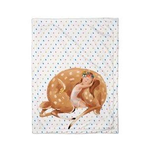 Butter Kings Detska deka Forest school sleeping fairy, 75 x 100 cm
