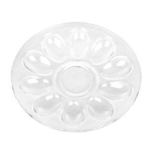 Altom Sklenený tanier na vajcia, 22 cm